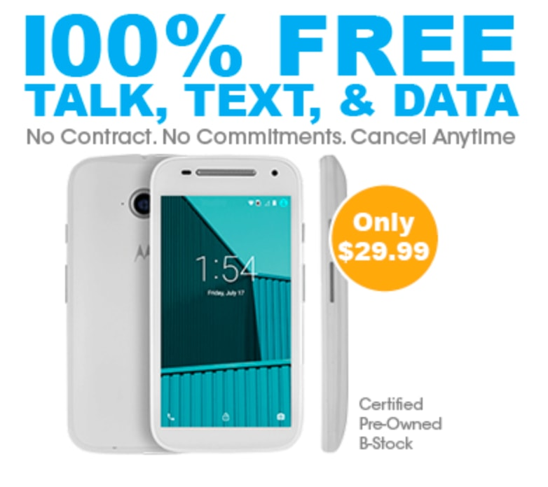 100% Free Service Refurb Phone for FreedomPop for $30 + free shipping