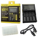 Nitecore D4 Smart LCD Battery Charger for $22 + free shipping