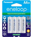 Panasonic eneloop AA Batteries 8-Pack for $15 + pickup at Walmart