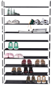 MaidMax 10-Tier Shoe Rack for $30 + free shipping