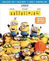 Minions on 3D Blu-ray / Blu-ray/ DVD / HD for $12 + pickup at Best Buy