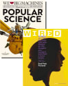 Popular Science & Wired Magazine 1-Year Sub for $8