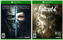 Dishonored 2 and Fallout 4 for Xbox One for $40 + $3 s&h