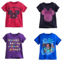 Kids' T-Shirts at Disney Store for $9 + free shipping w/ $50