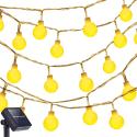 Oak Leaf 13-Foot 30-LED Solar Light Strand for $6 + free shipping w/ Prime