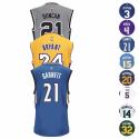 adidas Men's NBA Legends Replica Jersey for $25 + free shipping