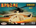 Puzzled 3D-Puzzle Wood Apache Helicopter Kit for $6 + pickup at Walmart