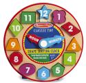 Melissa & Doug Shape Sorting Clock for $8 w/ Prime + free shipping
