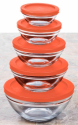 Wexley Home 10pc Glass Bowl Set w/ Lids for $6 + $4 s&h