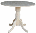 """International Concepts 36"""" Dining Table for $125 + free shipping"""