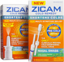 Zicam Cold Remedy Nasal Spray & Swab 2-Pack for $12 + free shipping