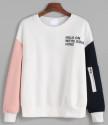 SheIn Women's Drop Shoulder Sweatshirt for $17 + free shipping