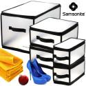 Samsonite Zip Storage Bin Set 5-Piece Set for $25 + free shipping