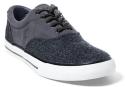 Polo Ralph Lauren Men's Tweed–Suede Sneakers for $18 + $5 s&h