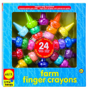 Alex Toys Little Hands Farm Finger Crayons for $6 w/ $25 purchase + free shipping w/ Prime