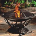 CobraCo Aegean Steel Fire Pit for $43 + free shipping w/ Prime