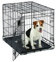 "MidWest Life Stages 24"" Folding Dog Crate for $14 + free shipping w/ Prime"
