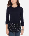 The Limited Women's Mixed Media Sweater for $35 + $9 s&h