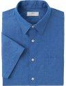 Uniqlo Men's Linen Cotton Short Sleeve Shirt for $10 + $5 s&h