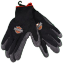 Harley Davidson Men's Grip Rubber-Work Gloves for $8 + free shipping