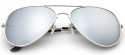 Men's Mirrored Aviator Sunglasses 2-Pack for $6 + free shipping