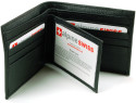 Alpine Swiss Men's RFID Leather Wallet for $15 + free shipping