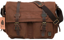 Men's Vintage Military Canvas Messenger Bag for $44 + free shipping