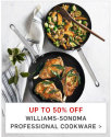 Williams-Sonoma Black Friday Sale: up to 50% off + free shipping