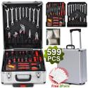 Yaheetech Mechanics 599pc Rolling Toolbox for $78 + free shipping