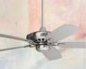 "Casa Vieja 52"" Brushed Nickel Ceiling Fan for $120 + free shipping"