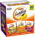 Goldfish Crackers 30-Count Variety Pack for $6 + free shipping