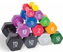 Cap Barbell Vinyl-Coated Dumbbells at Walmart from 85 cents + pickup at Walmart