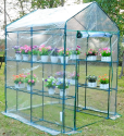 Outsunny 5x5x6-Foot Steeple Greenhouse for $52 + free shipping
