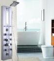 "Goplus 46"" Bathroom Aluminum Shower Panel for $100 + free shipping"