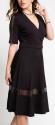 I'm In Women's Mesh Panel Surplice Dress for $35 + $6 s&h