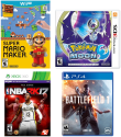 Video Games at Target: 15% off + free shipping