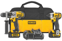 DeWalt Hammerdrill / Impact Driver Kit, Saw for $224 + free shipping