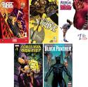 5 Marvel Digital Comics for free