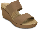 Crocs Women's Leigh II 2-Strap Wedges for $30 + free shipping