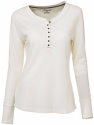 Natural Reflections Women's Thermal Henley for $18 + free shipping
