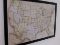 Magnetic Pin Travel Map for $55 + free shipping