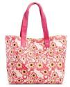 Women's Floral Print Canvas Tote Handbag for $9 + pickup at Target