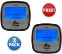 RBX Lifeworks Digital Pedometer 2-Pack for free + $5 s&h