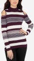Limited Women's Cold Shoulder Sweater for $16 + free shipping
