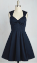 ModCloth Women's Flare Maiden Dress for $22 + $6 s&h