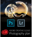 Adobe CC 1-Year Photography Plan for PC / Mac for $89