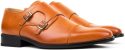 Gino Vitale Men's Monk-Strap Dress Shoes for $30 + $4 s&h