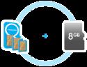 FreedomPop SIM Kit w/ 8GB microSD Card for $1 + free shipping