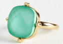 ModCloth Women's I Glow Your Type Ring for $7 + $4 s&h
