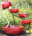 Best Choice Products Ceramic Solar Fountain for $70 + free shipping